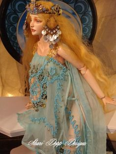 Shari Depp Designs for Ball Jointed and Tonner Fashion Dolls via Etsy
