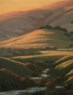 Chileno Valley Creek, 8x6, is part of a special selection of my small original oil paintings that are significantly discounted just in time for your holiday gift giving! Northern California Landscape Painting, California, Sonoma County, Marin County, wine country, wine country painting, original oil painting, oil painting, painting, landscape painting, landscape, fine art, art gifts, holiday gifts, holiday shopping, gifts, interior design, home decor, Terry Sauve…