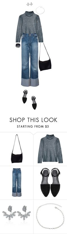 """#14G Simplicity"" by lsaroskyl ❤ liked on Polyvore featuring Donna Karan and Cédric Charlier"