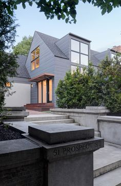 Prospect Residence (Providence, RI) by Albert Garcia of KITE Architects, Inc. 2016 Marvin Architects Challenge Best Remodel/Addition winner.
