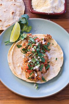Spiced Ground Turkey Tacos