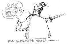 """Ahora les dejamos con nuestra caricatura: """"Desde la renovación"""""""