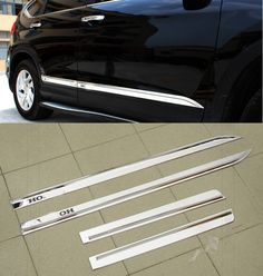 73.59$  Watch now - http://ali3fb.worldwells.pw/go.php?t=32787021083 - FIT FOR HONDA CRV CR-V 2012 2013 2014 2015 CHROME SIDE DOOR BODY MOLDING TRIM COVER LINE GARNISH PROTECTOR ACCESSORIES 4PCS/SET