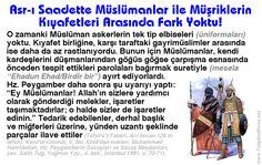Asr-ı Saadette Müslümanlar ile Müşriklerin Kıyafetleri Arasında Fark Yoktu!