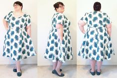 Fashion Now, Plus Size Fashion, Fashion Outfits, Womens Fashion, Sewing Class, Fit Flare Dress, How Beautiful, Plus Size Dresses, Lady