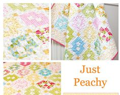 Just Peachy quilt pattern