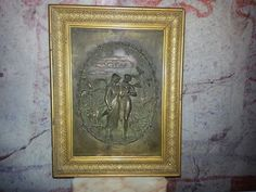 Bronze Relief signed Leon Perzinka MASSIVE BRONZE, um 1900,