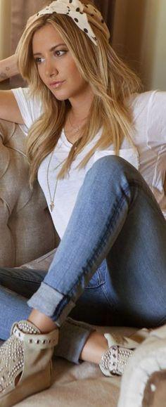 Ashley Tisdale's style