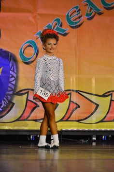 Dazzling White Taylor Dresses Irish Dance Dress Solo Costume For Sale
