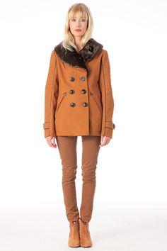 Manteau drap de laine Laiko Epice 2two sur MonShowroom.com
