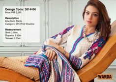 Winter's Grace Warda Designer Dress Collection 2014