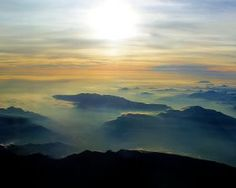 steel canvas Landscape landscape skyscape cloud sun horizon silhouette valley mountain