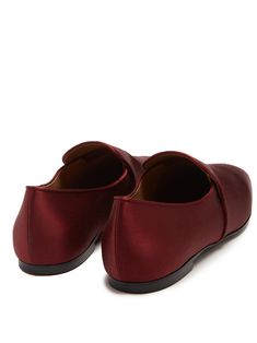 c178441f57f2d Click here to buy The Row Alys satin loafers at MATCHESFASHION.COM The Row