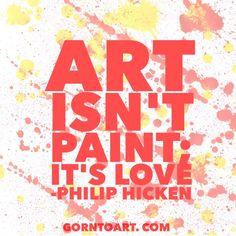 #Art is #love