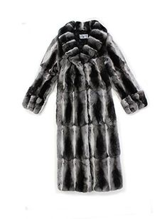 SIZE: 14 Overall Length: 52 inches  Sweep at Bottom: 58 inches Shoulder to Shoulder: 19.5 inches Sleeve Length from Neck Seam: 30.5 inches Across Back from Armpit to Armpit: 23 inches Chest at Fullest Point with Coat Closed: 46 inches Closure Type: Hooks/Eyes Fur garment sizing is not always...  More details at https://jackets-lovers.bestselleroutlets.com/ladies-coats-jackets-vests/fur-faux-fur/product-review-for-715498-new-natural-genuine-chinchilla-fur-full-length-coat-st