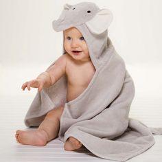 Baby Bath Wrap, Elephant