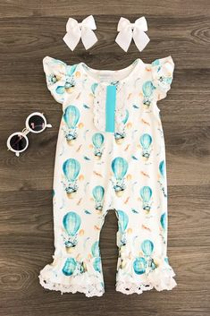 Shop our adorable collection of baby clothes! From cute dresses and rompers to adorable overalls, your baby is going to be the most fashionable on the block! Shop the baby collection today! Cute Outfits For Kids, Toddler Outfits, Cute Kids, Boy Outfits, Cute Baby Girl, Baby Love, Baby Girls, Rompers For Kids, Baby Rompers