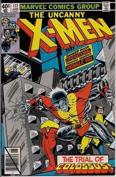 MARVEL Mutants Uncanny XMEN #122 Bronze Age Comics 1979 Chris Claremont John Byrne Fn created by Jack King Kirby & Stan Lee