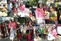 Dimple Patel receives a grand Homecoming after winning The Miss Globe 2016 crown