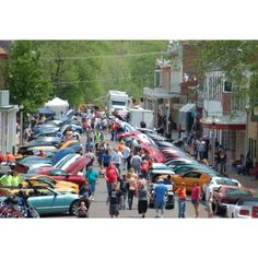 Main street and lots of Shelby HP