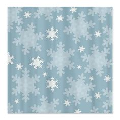Snowflakes Shower Curtain  Do Ppl Do Seasonal Themed Bathrooms? If Not, It  May