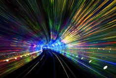 Shanghai has this incredible tunnel that goes under the river to the Bund. from #treyratcliff at www.StuckInCustom... - all images Creative Commons Noncommercial