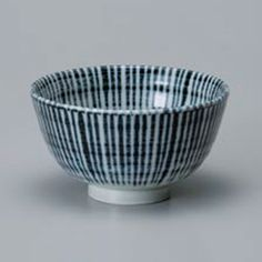 Navy Toksua Chawan Rice Bowl
