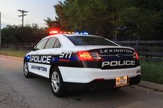 #LexingtonKYPoliceDepartment- This is what the newest Lexington Police cruisers look like. I'm still trying to decide if I like it better than the Crown Victoria.