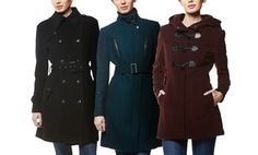 Groupon - Cole Haan Women's Wool Jackets. Three Styles Available from $ 239–$289. in Online Deal. Groupon deal price: $239