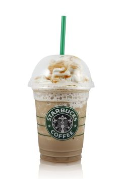 Healthy Copycat Starbuck Frappuccino Recipe. Takes about four minutes. I've made it... use regular milk, not almond milk, and A LOT more ice.