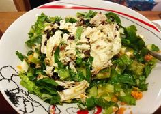 κύρια φωτογραφία συνταγής Πράσινη σαλάτα με σως τυριού Lettuce, Recipies, Food And Drink, Cooking Recipes, Vegetarian, Vegetables, Recipes, Chef Recipes, Vegetable Recipes
