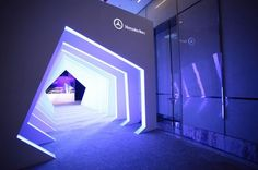 I like the idea of going into another world Exhibition Stall, Exhibition Booth Design, Exhibition Display, Entrance Design, Gate Design, Entrance Ideas, Event Agency, Environmental Design, Stand Design