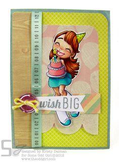 Wish Big by Kristy Dalman using Big Wishes Mae