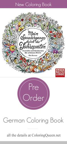 German Illustrator Rita Berman Has Already Published 6 Coloring Books Including Her Popular Series Of