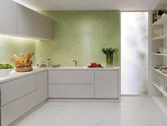 piastrelle verdi per cucina - Cerca con Google