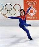 1984 Winter Olympics - Scott Hamilton gold medalist