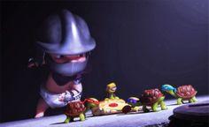 Me So Nerdy: NERD ART: Baby TMNT vs Baby Shredder