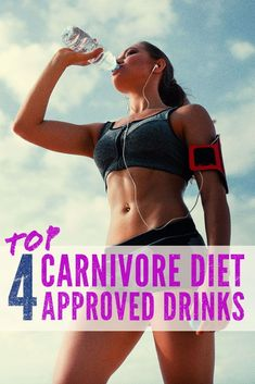 Te carnivore diet is as basic as it gets when comparing to other diets like keto or the Atkins diet but what does that leave you to drink?  Not much to be honest but that's why we drop our suggestions on what to drink while on an all meat carnivore diet!  Our list will help you stay on track!  #carnivorediet #diet #dietplan #plan #zercarb #carbs #carbohydrates #keto #ketosis #weightloss #supplements #lowcarb #ketogenic Zero Carb Diet, No Carb Diets, Fitness Diet, Fitness Goals, Weight Lifting, Weight Loss, Meat Diet, Electrolyte Drink, Easy Diets