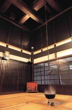 Japanese traditional folk hotel