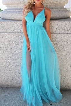Prom Dresses Tight, Deep V Neck Blue and Green Prom Dress, Sexy Prom Dresses, Long Evening Dress Fest We Baby Blue Prom Dresses, Pageant Dresses For Teens, Tulle Bridesmaid Dress, Elegant Bridesmaid Dresses, A Line Prom Dresses, Evening Dresses, Dress Wedding, Dress Prom, Party Dresses