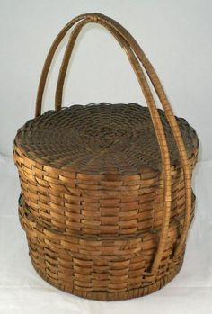 Unusual Double splint basket
