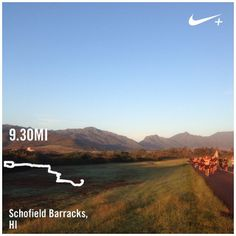 Long run now let the day begin alohafriday... | Nike Plus Running