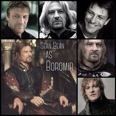 Sean Bean as Boromir by Heather Sondreal