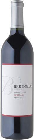 Beringer Meritage Wine