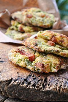 Frittelle di asparagi al forno con patate ricetta arte in cucina