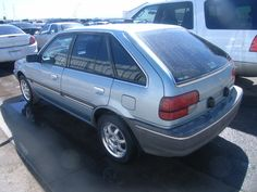 """1988 Mercury Tracer- made of awesome first and last """"new"""" car ever owned"""