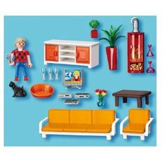 Kids dollhouses on pinterest dollhouses diy dollhouse and dollhouse furniture - Playmobil wohnzimmer 5332 ...