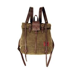 Waxed Canvas Make Your Own Rucksack Kit