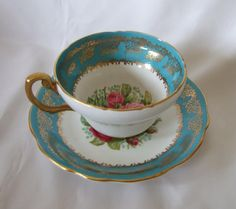 Vintage  Foley  Fine bone china Footed  By E by TheMewsCottage, £22.00