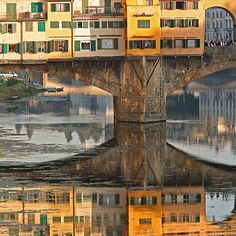 ponte vecchio oihccev etnop by 8lits on Flickr. #Firenze #Florence